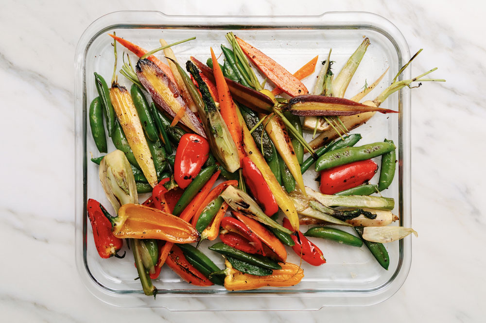 Full Tray Roasted Vegetables